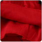 9965红色 宴会主持晚礼服裙无袖背心显腰大码燕尾礼服裙蕾丝中长连衣裙