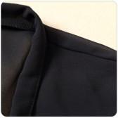 9689黑色  百搭小外套黑色小披风短袖雪纺空调衫遮肩大码披肩